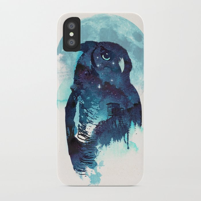 Midnight Owl iPhone Case