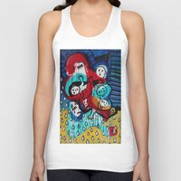 madonna Tank Tops featuring Lady Madonna by Lisa Brown Gallery