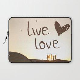 Live Love Laptop Sleeve