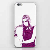 cara delevingne iPhone & iPod Skins featuring Cara Delevingne by fashionistheonlycure