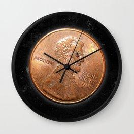 Coin Night Wall Clock