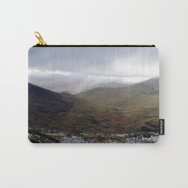 Mount Snowdon, Snowdonia, Wales Carry-All Pouch