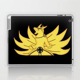 The Demon Fox Within Laptop & iPad Skin