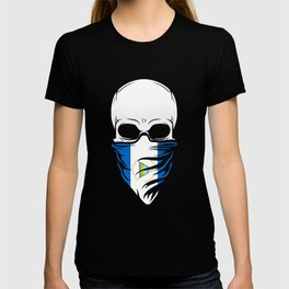 Nicaragua Skull T Shirt - Nicaragua T-shirt