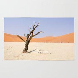 Lone Tree Deadvlei Namibia Rug