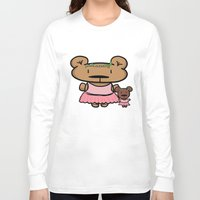 ballet Long Sleeve T-shirts featuring Ballet by Emily Elizabeth Reichmann