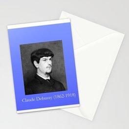 Marcel baschet -Portrait of Debussy Stationery Cards