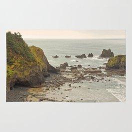 Ecola Point, Oregon Coast, hiking, adventure photography, Northwest Landscape Rug