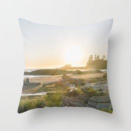 Tofino, British Columbia Throw Pillow