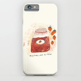look at u, strawberry jam!  iPhone Case