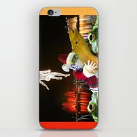 surrealism iPhone & iPod Skins featuring Christmas Surrealism by Ira Carter