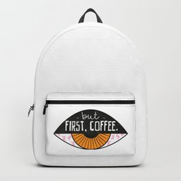 But first, COFFEE Backpack