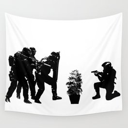 Police brutality coming up Wall Tapestry