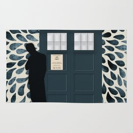 Dr Who and his Timey-Wimey Vehicle Rug