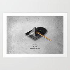 Pink Floyd - Dark Side of the Moon Art Print