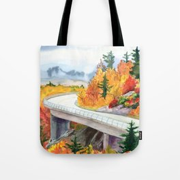 Road to Asheville Tote Bag