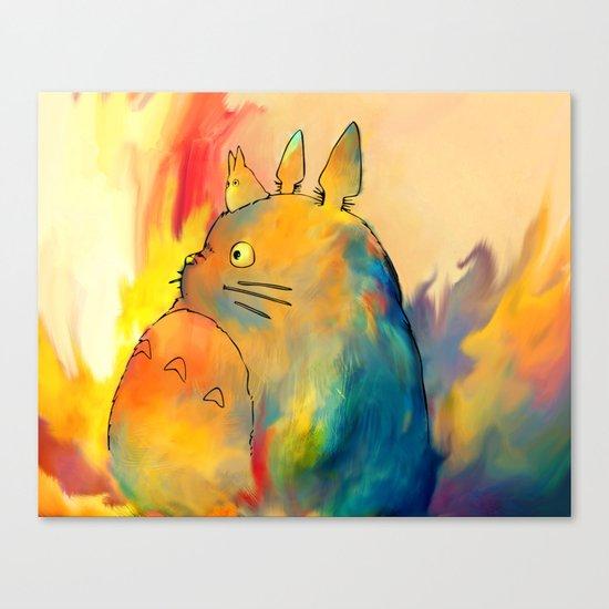 Neighbor Canvas Print