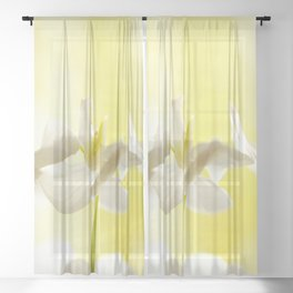 Three Ballerinas #decor #society6 #buyart Sheer Curtain