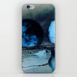 The Moon Fell For Me iPhone Skin