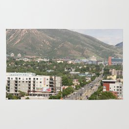 Salt Lake City Street Rug