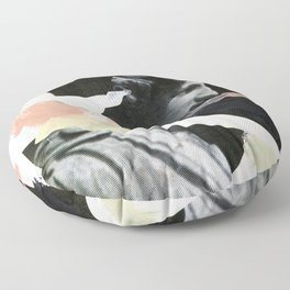 Untitled (Painted Composition 3) Floor Pillow