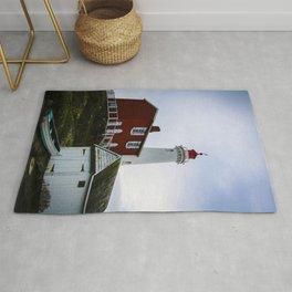 fisgard lighthouse Rug