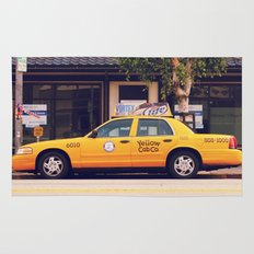 Yellow Cab Co ∫ Living Los Angeles Rug