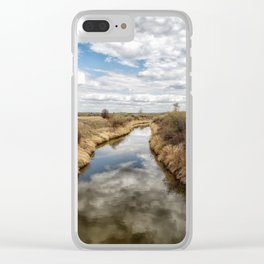 Lazy River Clear iPhone Case