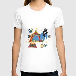 Circus Fun white T-shirt