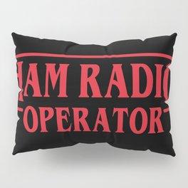 Strange Ham Radio Operator Pillow Sham