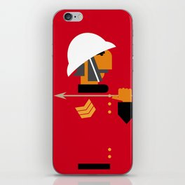 The man who would be king iPhone Skin