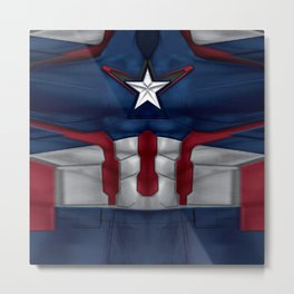 CAPTAIN SUIT Metal Print