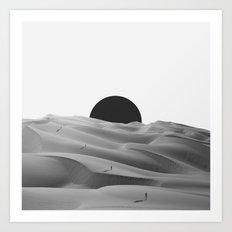 idle. Art Print