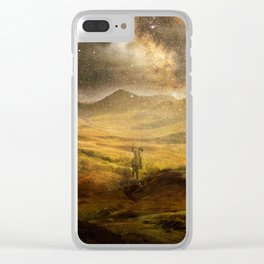 master of his domain Clear iPhone Case