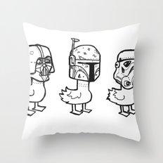 Star Wars Ducks  Throw Pillow