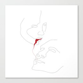Red Venom Canvas Print