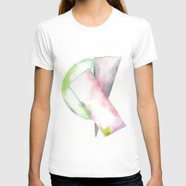 180914 Minimalist Geometric Watercolor 2 T-shirt