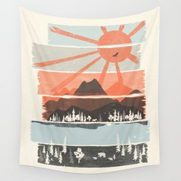 Morning by Bear River... Wall Tapestry