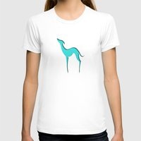 greyhound T-shirts featuring Greyhound by eDrawings38