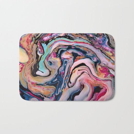 Colorful Fantasy Abstraction Bath Mat