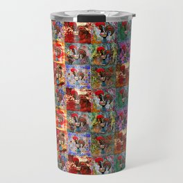 Galos de Barcelos Travel Mug