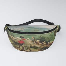 Pieter Bruegel the Elder's Landscape with the Fall of Icarus Fanny Pack