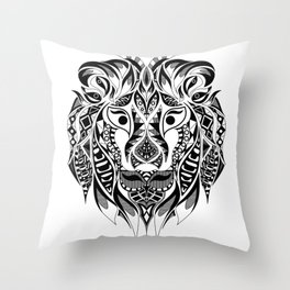 Mr Lion Ecopop Throw Pillow