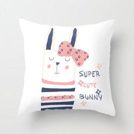RABBIT BUNNY Throw Pillow