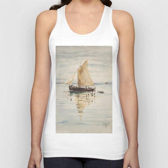 """Egon Schiele """"Segelschiff mit Spiegelungen (Sailing ship with reflection)"""" by alexandra_arts"""