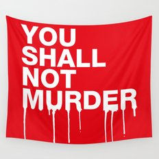 The Sixth Commandment Wall Tapestry
