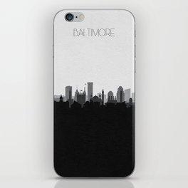City Skylines: Baltimore (Alternative) iPhone Skin