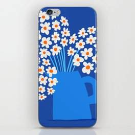 Abstraction_FLORAL_Blossom_001 iPhone Skin