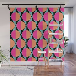 60s abstract pattern Wall Mural