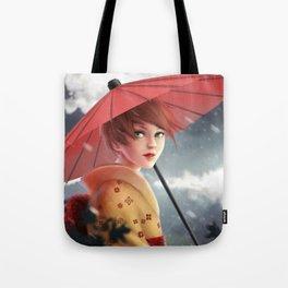 Modern Geisha, Tote Bag